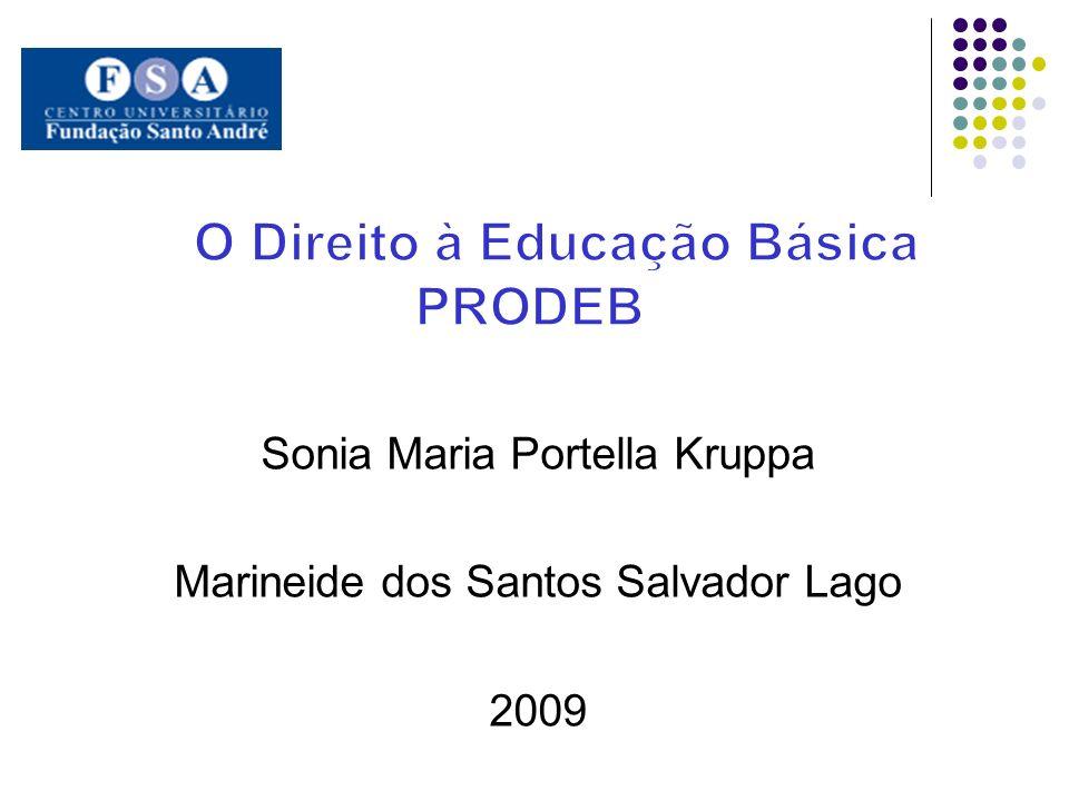 Sonia Maria Portella Kruppa Marineide dos Santos Salvador Lago 2009