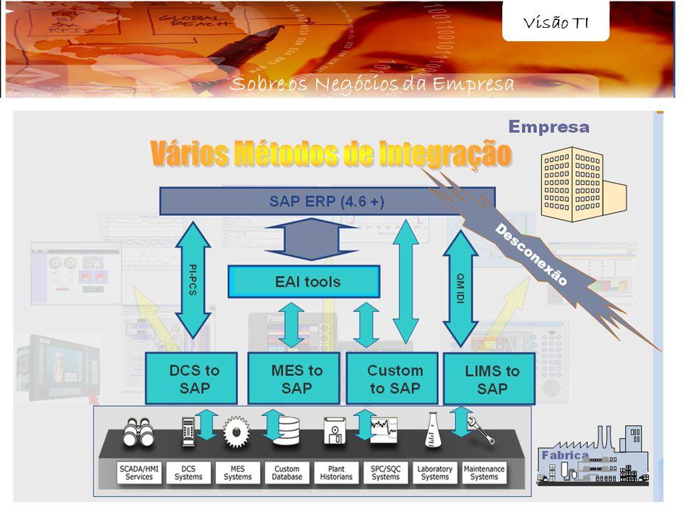 Visão TI Sobre os Negócios da Empresa
