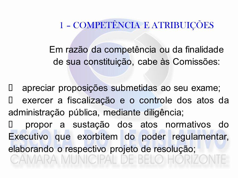 5 - DILIGÊNCIA A comissão, nos limites de sua competência, poderá baixar a proposição em diligência, considerando como tal a apresentação de: pedido de audiência pública; pedido de informação por escrito;