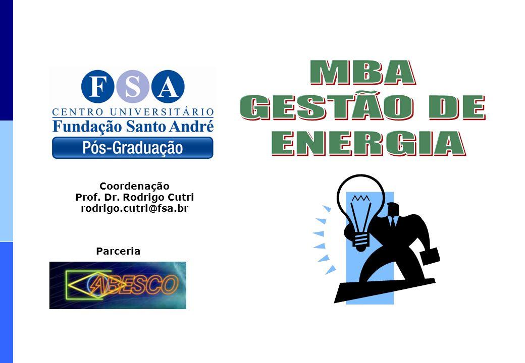 Parceria Coordenação Prof. Dr. Rodrigo Cutri rodrigo.cutri@fsa.br