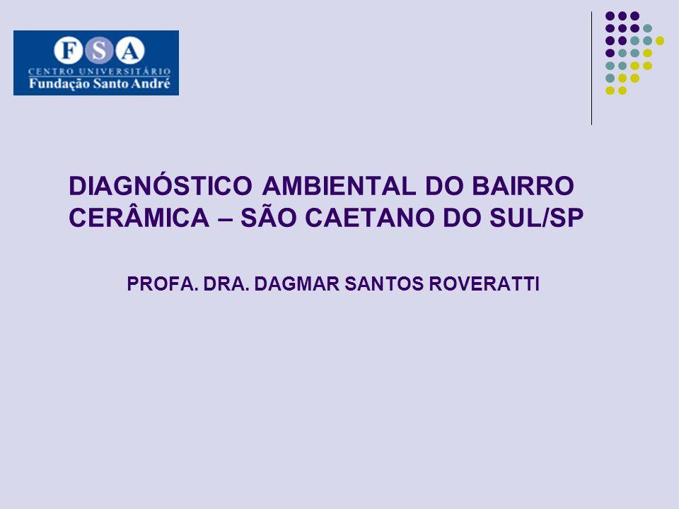 DIAGNÓSTICO AMBIENTAL DO BAIRRO CERÂMICA – SÃO CAETANO DO SUL/SP PROFA. DRA. DAGMAR SANTOS ROVERATTI