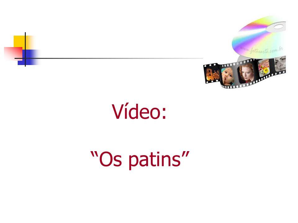 Vídeo: Os patins