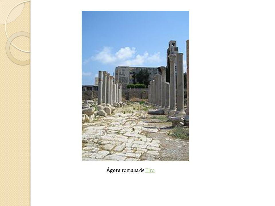 Á gora romana de TiroTiro