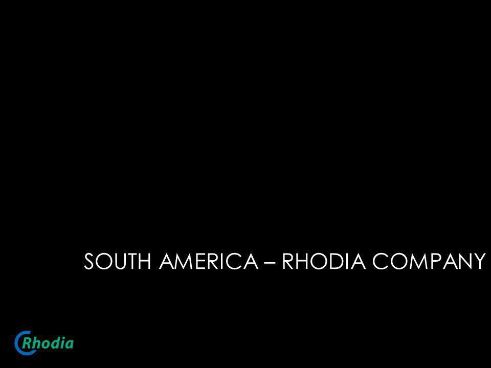 SOUTH AMERICA – RHODIA COMPANY