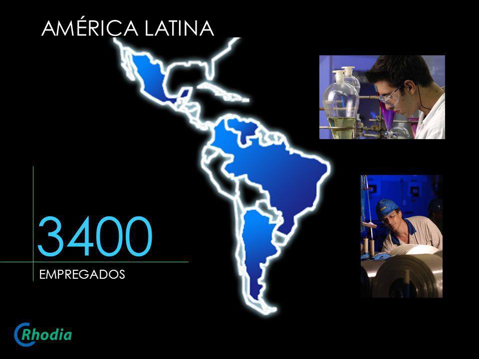 AMÉRICA LATINA 3400 EMPREGADOS