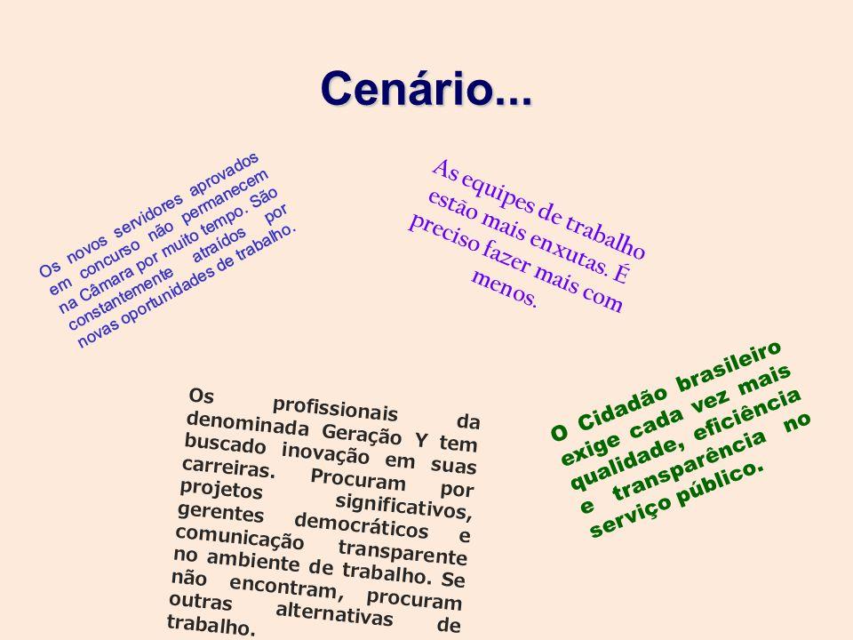 O Cidadão brasileiro exige cada vez mais qualidade, eficiência e transparência no serviço público. As equipes de trabalho estão mais enxutas. É precis