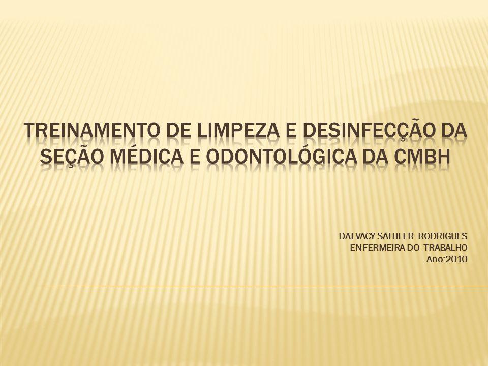 As técnicas de limpeza e desinfecção são medidas importantes de prevenção de infecções na área de saúde.
