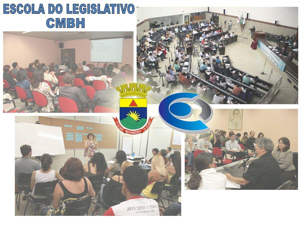 Histórico A Escola do Legislativo da Câmara Municipal de Belo Horizonte originou-se de demandas de parlamentares preocupados em aproximar a Câmara dos cidadãos, potencializar o debate político, fortalecer o processo legislativo, bem como capacitar servidores, cidadãos e agentes políticos.