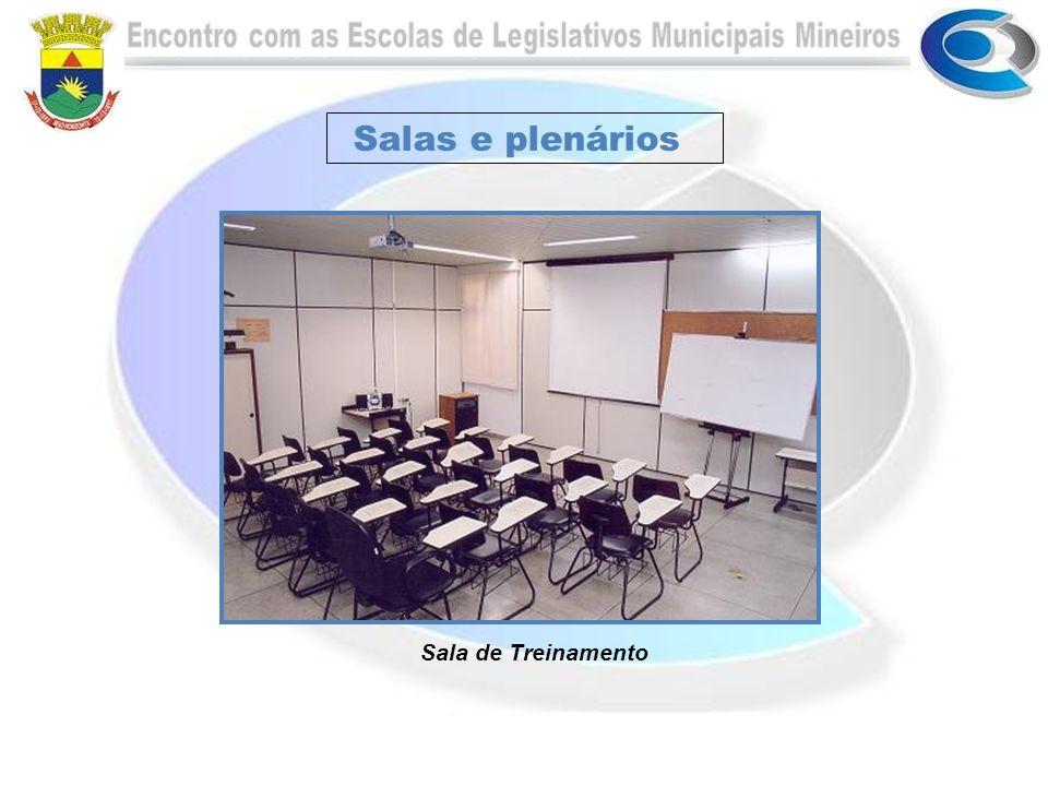 Salas e plenários Sala de Treinamento