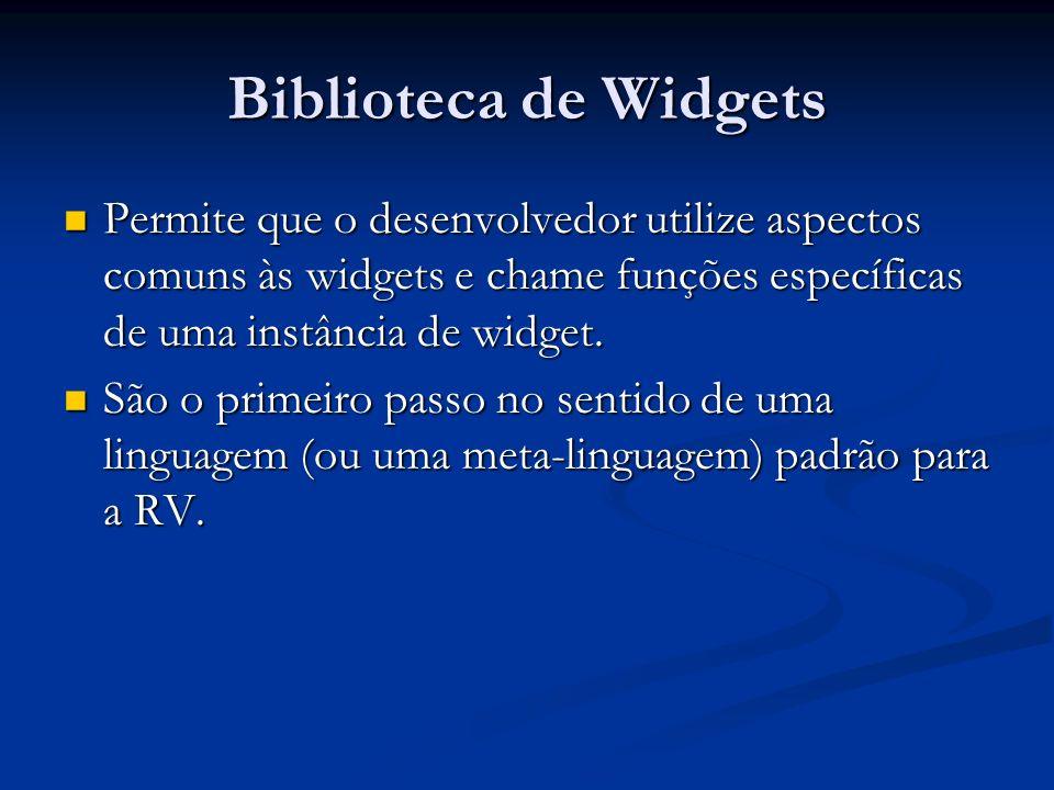 Herança funcional Cada widget pode ser construída a partir de outras widgets.