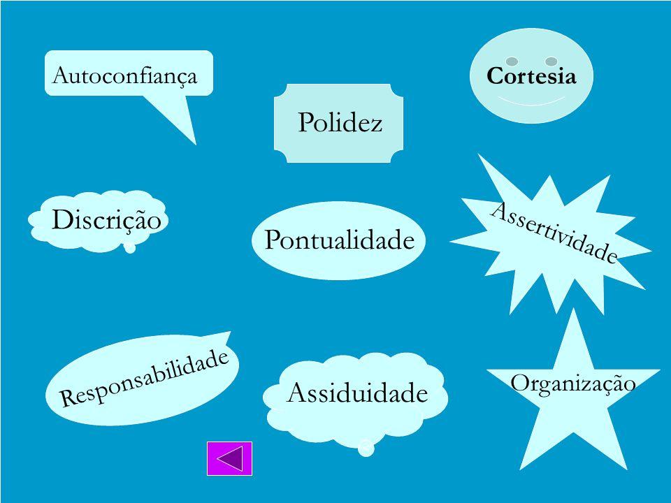 Curso de Atendimento ao Público Perfil e Competências do Atendente Discrição Assiduidade Responsabilidade Autoconfiança Pontualidade Assertividade Org