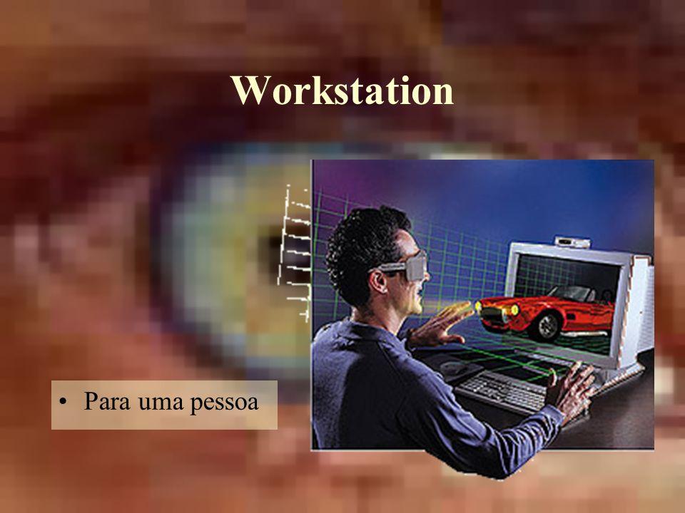 Workstation Para uma pessoa