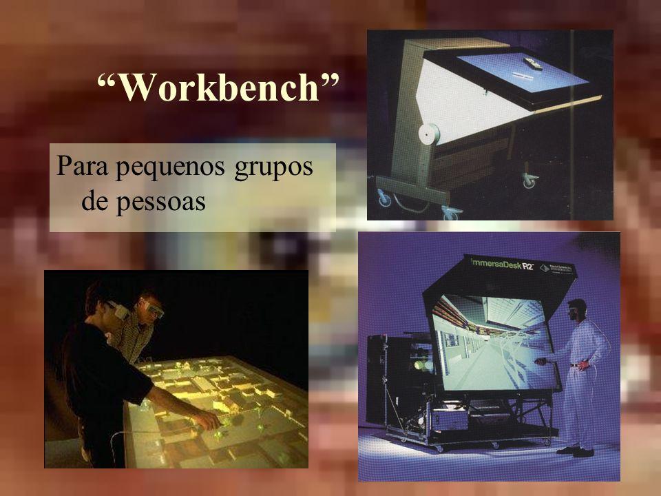 Workbench Para pequenos grupos de pessoas