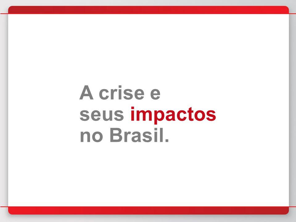 A crise e seus impactos no Brasil.