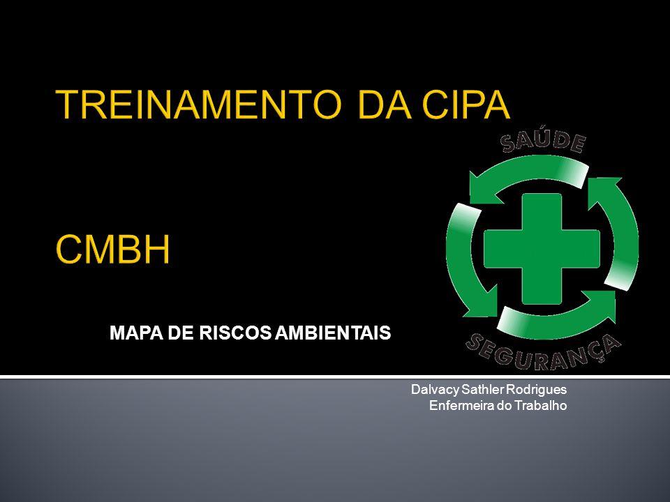 MAPA DE RISCOS AMBIENTAIS Dalvacy Sathler Rodrigues Enfermeira do Trabalho