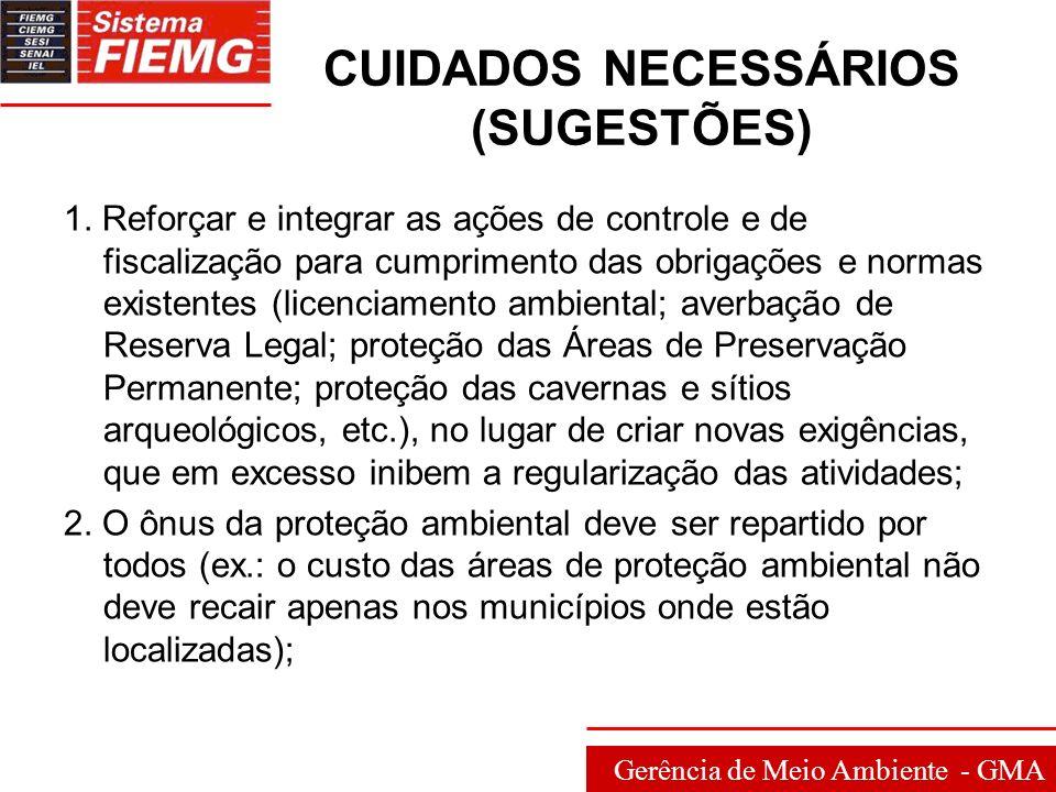 Gerência de Meio Ambiente - GMA 3.