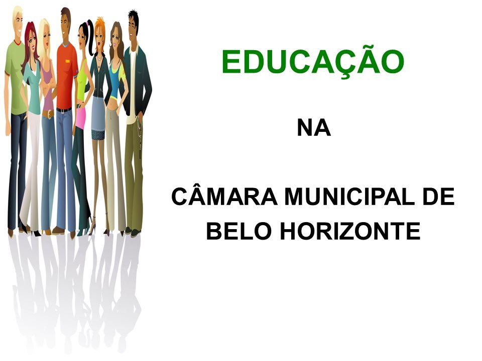 EDUCAÇÃO NA CÂMARA MUNICIPAL DE BELO HORIZONTE