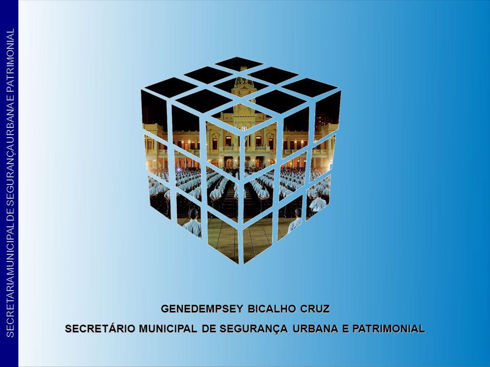 SECRETARIA MUNICIPAL DE SEGURANÇA URBANA E PATRIMONIAL GENEDEMPSEY BICALHO CRUZ SECRETÁRIO MUNICIPAL DE SEGURANÇA URBANA E PATRIMONIAL