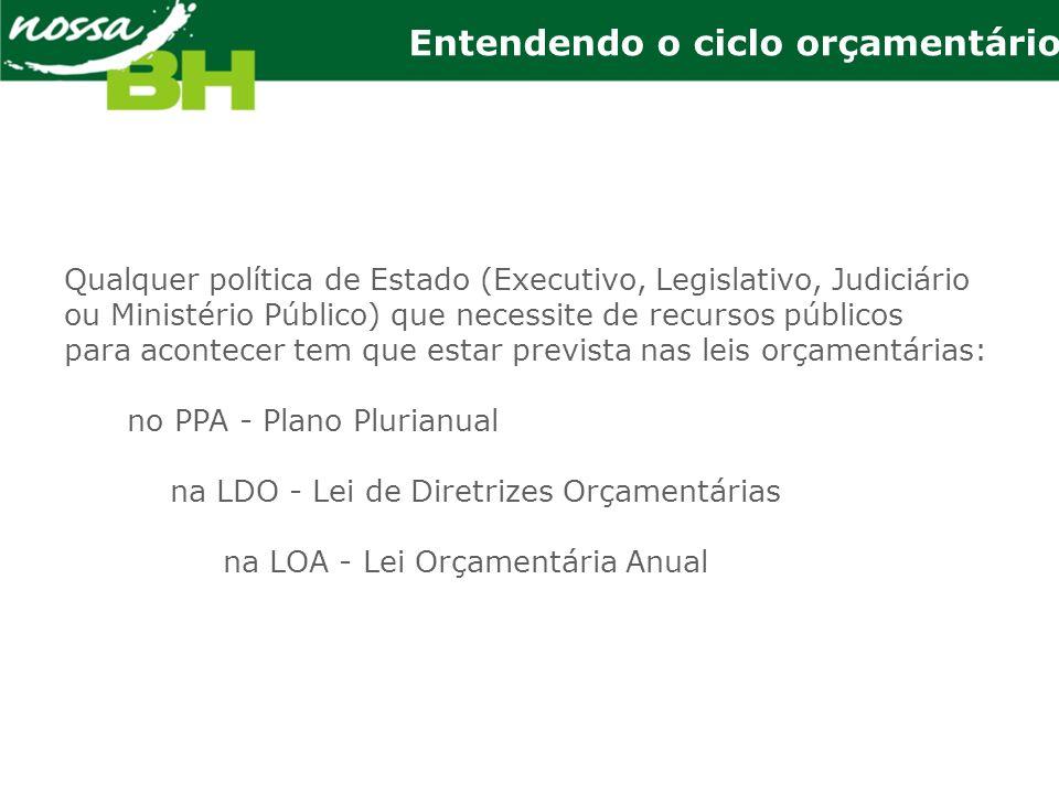 Com base no PPA, o Executivo formula, anualmente, a proposta da Lei de Diretrizes Orçamentárias, definindo prioridades e metas de governo.