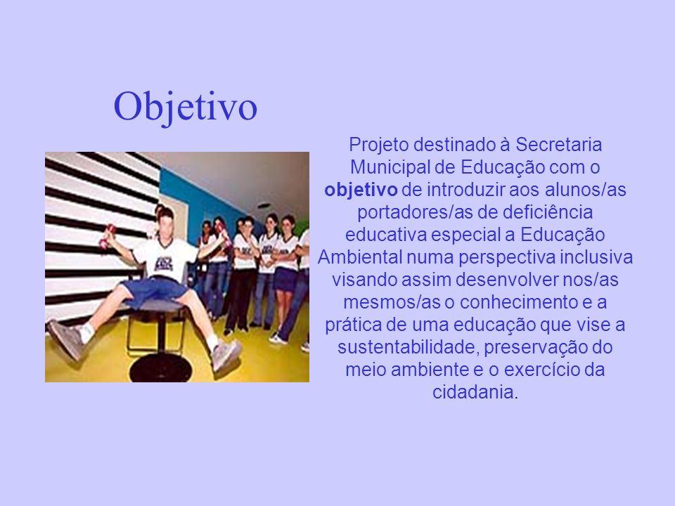 Educação Ambiental numa perspectiva inclusiva Washington Felix Rocha