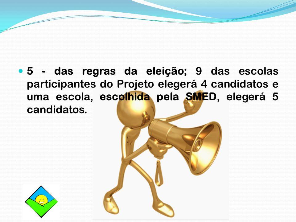 6 – eleição; cada eleitor votará em dois candidatos (eleições para Senador da República).