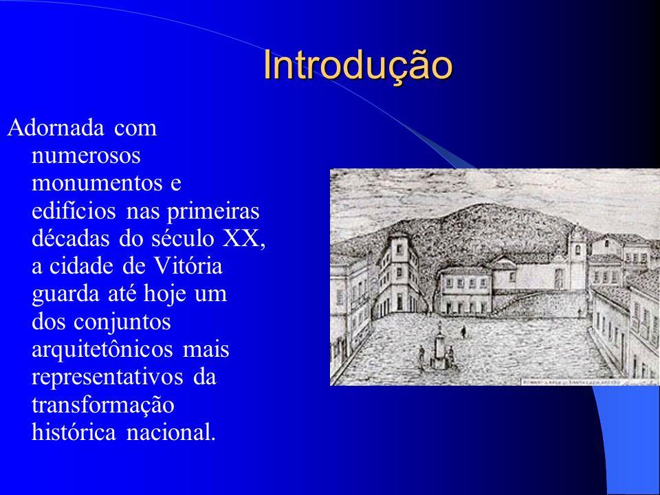 Objetivos Valorizar o patrimônio histórico do Centro de Vitória; Levar o aluno a conhecer e valorizar a cultura local; Despertar no aluno a necessidad