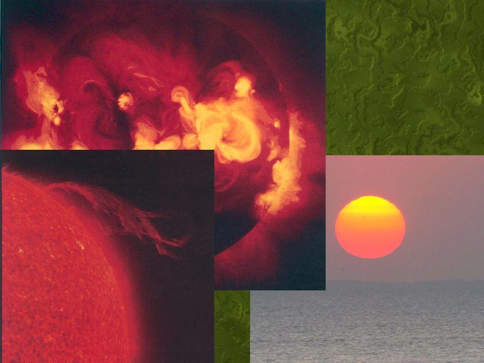 11 O Sol Uma estrela de cor amarelada. Classe G5 –Quinta grandeza