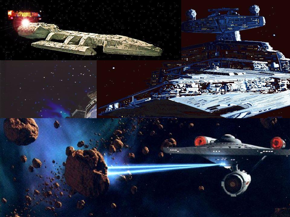 18 Na ficção científica... Naves: Entreprise Galactica Babylon 5 Cruzador Coreliano