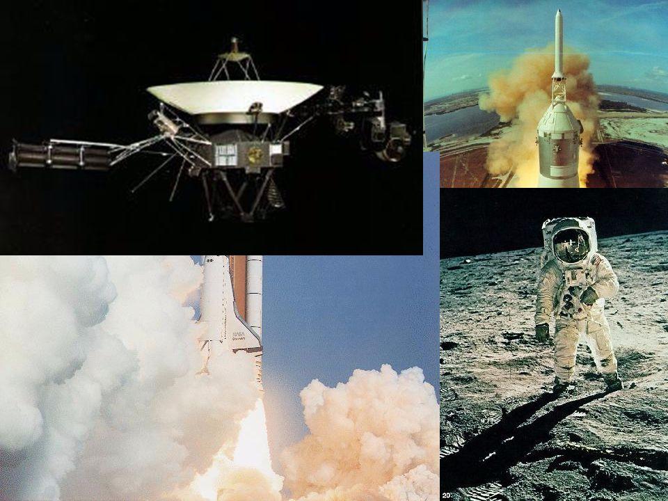 19... e na realidade Saturno V Shuttle Voyager I e II