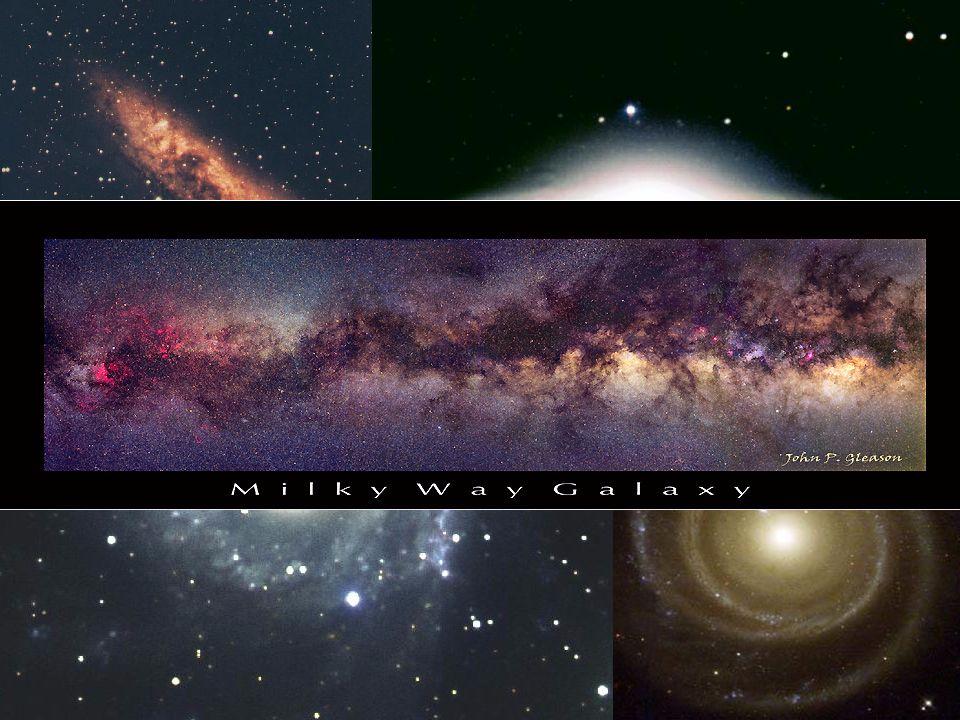 3 Indícios: Sim Tantas estrelas e planetas... –Uma galáxia tem cerca de 10 bilhões de estrelas.