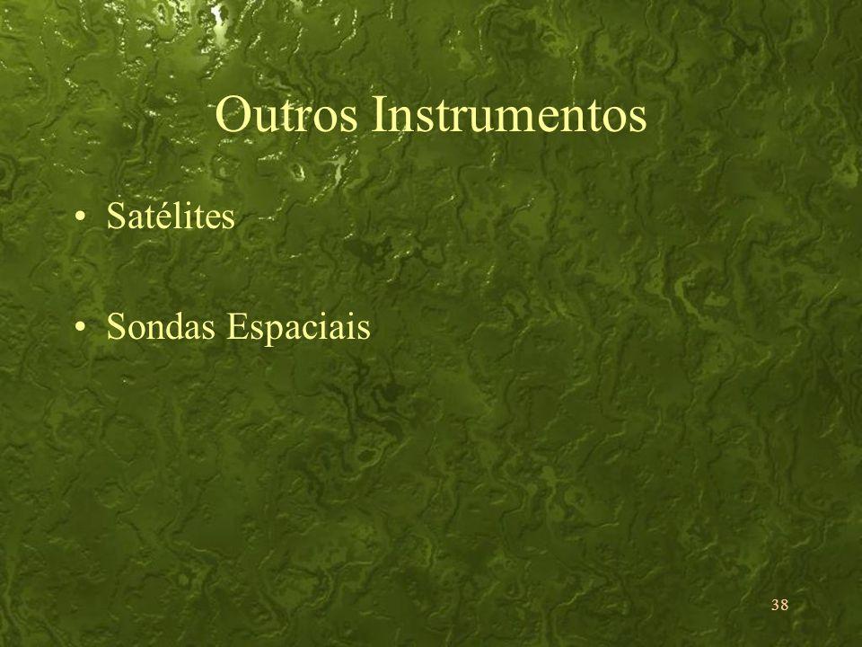 38 Outros Instrumentos Satélites Sondas Espaciais