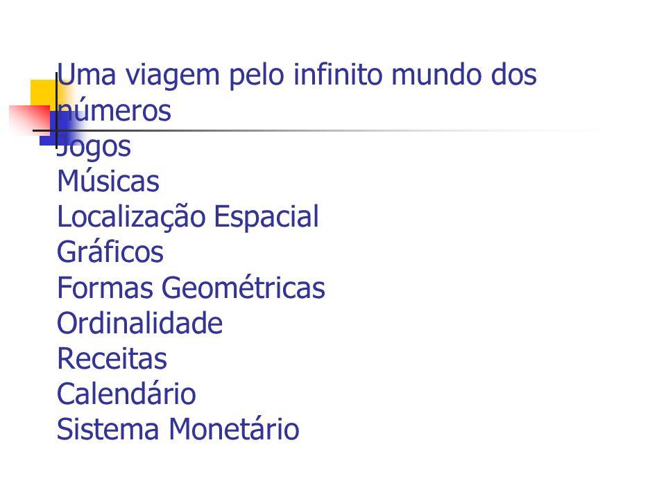 O Infinito Mundo da Matemática Prefeitura Municipal de Vitória Viviane de Souza Freitas