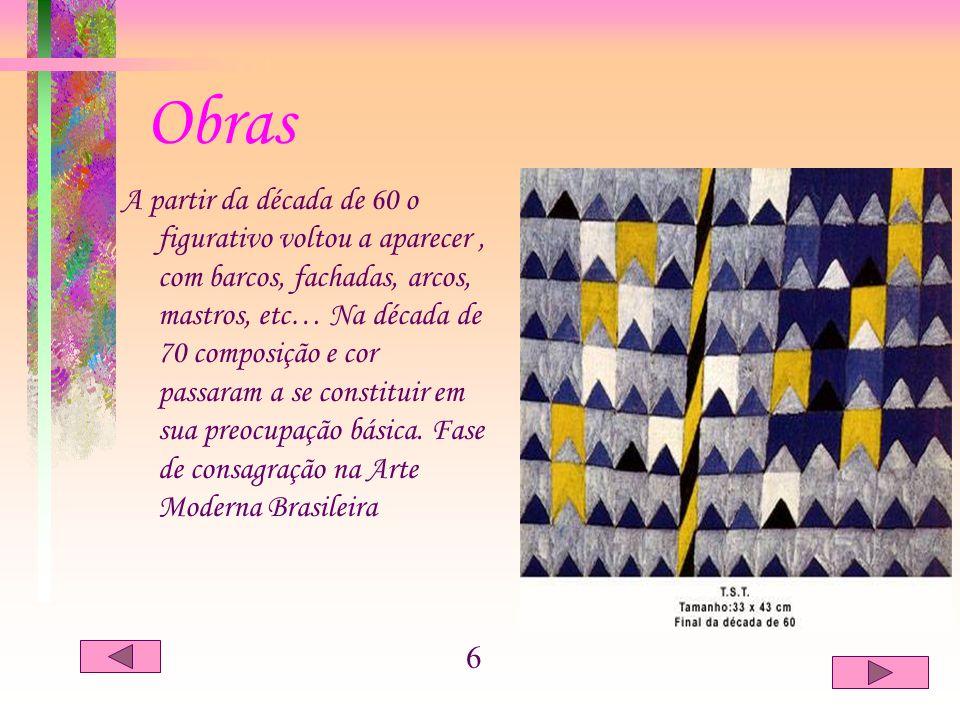 Obra – Composição ( 1976, têmpera sobre tela, 68 x 136 cm ). 7