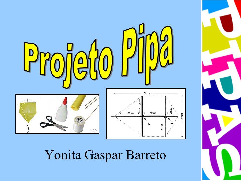 Com o objetivo de enriquecer e aprimorar os estudos de Geometria sobre ângulos, retas, polígonos, medidas, simetria e mosaicos, elaborei um projeto de confecção de pipas.
