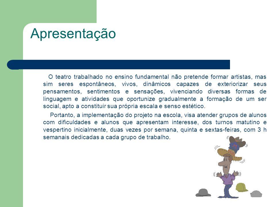 Teatro na Escola Jussara L. de Andrade