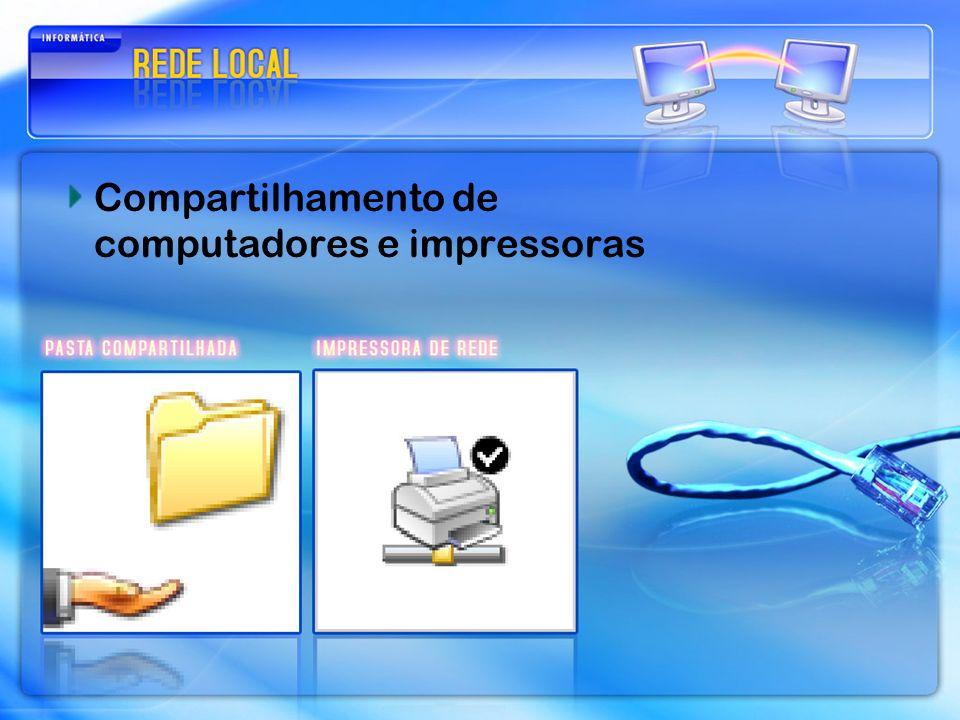 Compartilhamento de computadores e impressoras