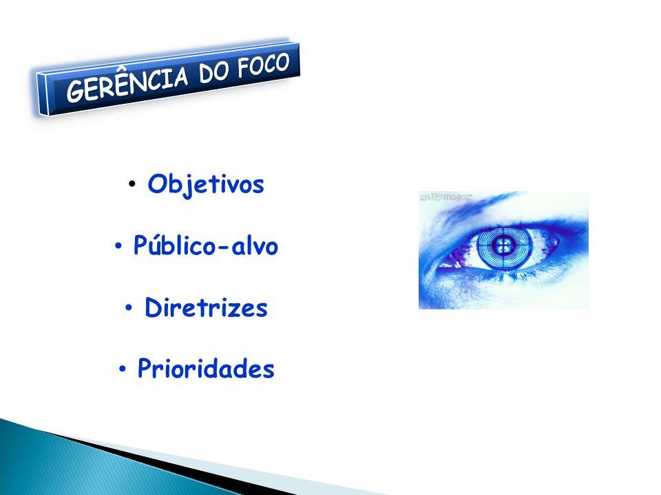 Objetivos Público-alvo Diretrizes Prioridades