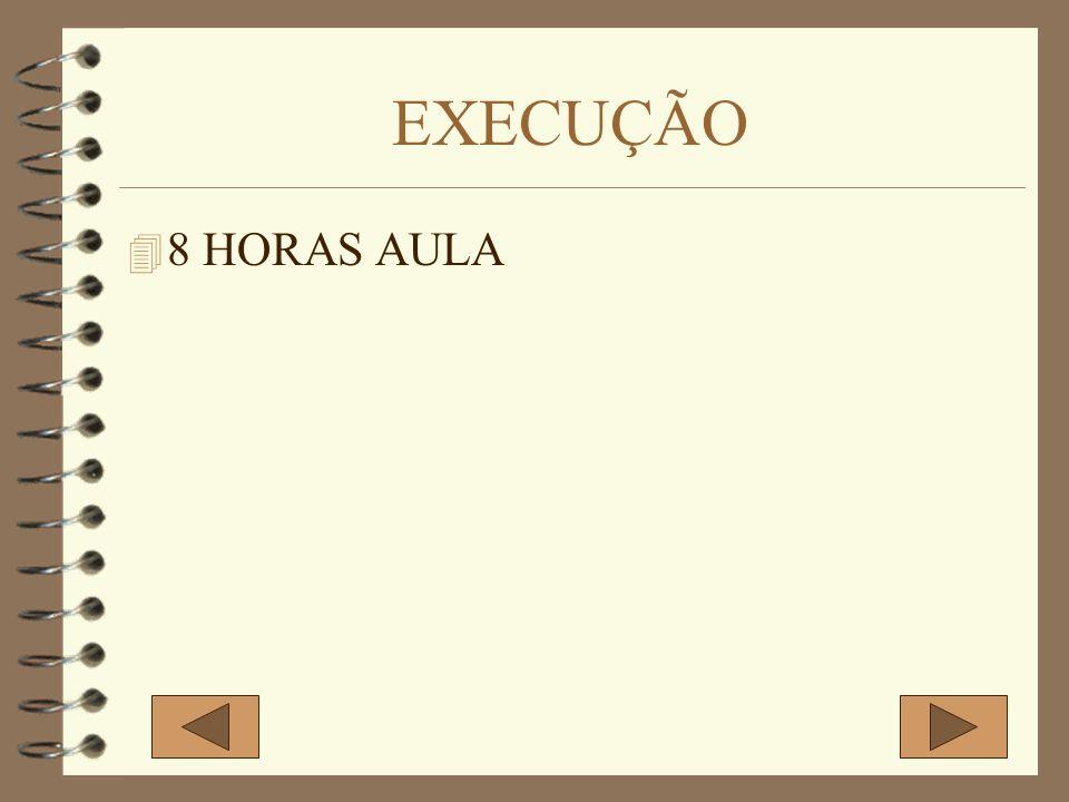 EXECUÇÃO 4 8 HORAS AULA