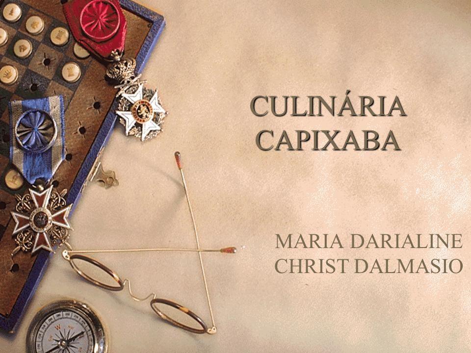 INTRODUÇÃO Sabemos que a culinária é a marca de uma sociedade, cujos costumes estão centrados na formação do seu povo:origem, hábitos, festejos, religiosidade,etc....