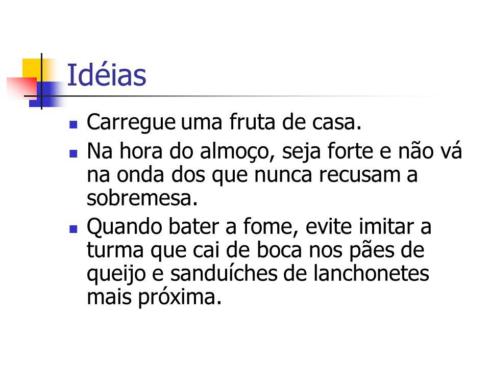 Idéias Carregue uma fruta de casa.