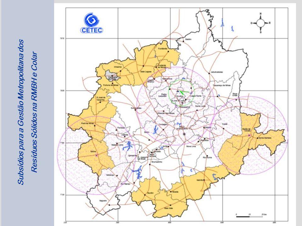 25 Subsídios para a Gestão Metropolitana dos Resíduos Sólidos na RMBH e Colar