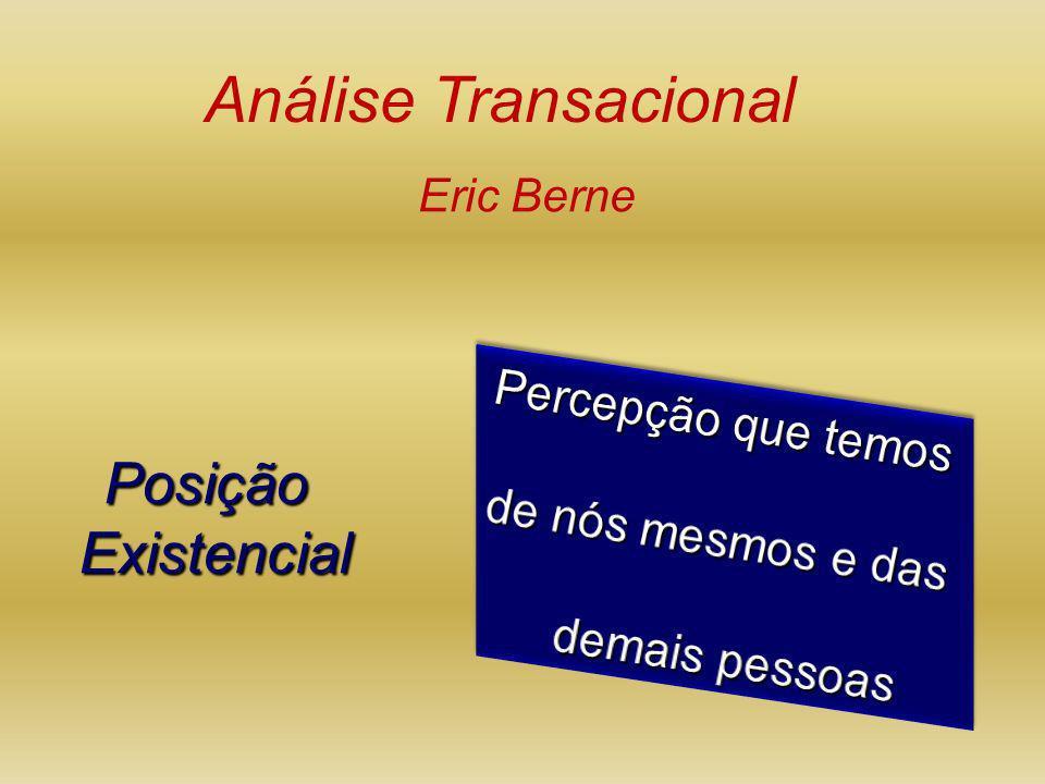 PosiçãoExistencial Análise Transacional Eric Berne