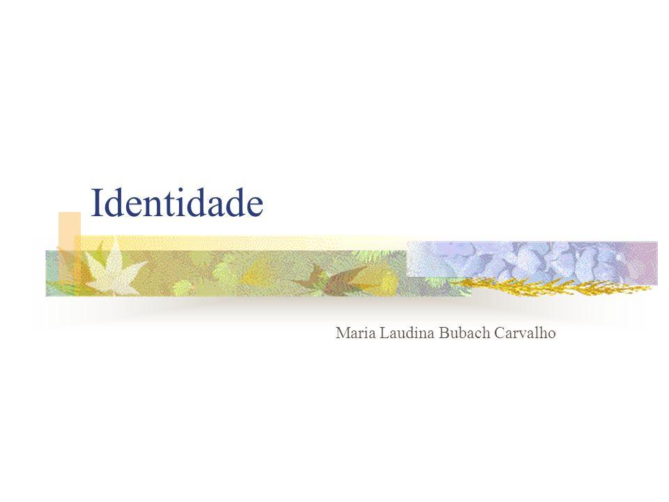Identidade Maria Laudina Bubach Carvalho