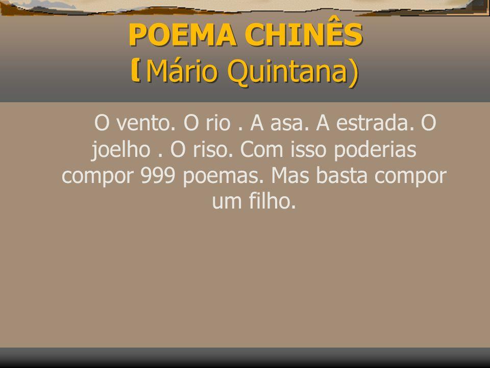 INTRODUÇÃO Tem gente que pensa que poesia é coisa só de apaixonado, o que não é verdade. Aqui, os poetas Mário Quintana, Fernando Paixão e Cecília Mei