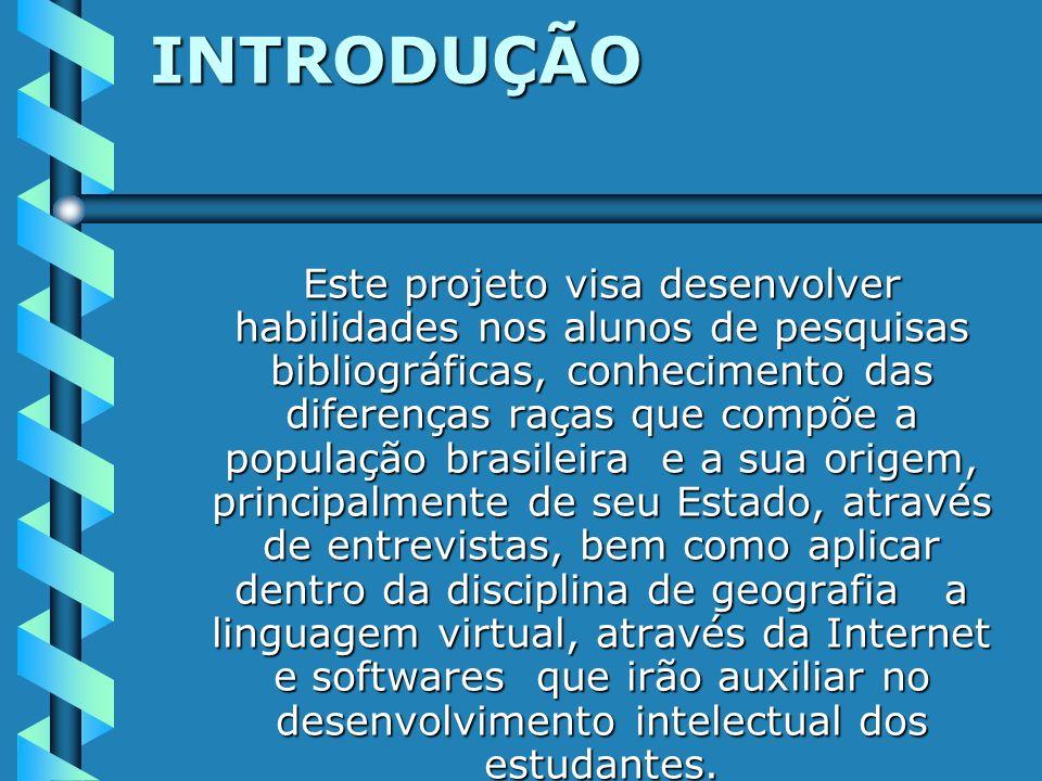 EMEF PRESIDEU AMORIM PROJETO QUEM SOMOS Disciplina: Geografia Professora: Nurse Vieira