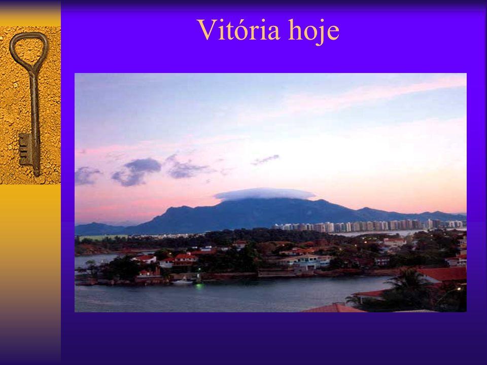 Vitória hoje Natureza privilegiada, clima agradável, culinária de sabor diferenciado, além de muita história. A capital do Espírito Santo, localizada