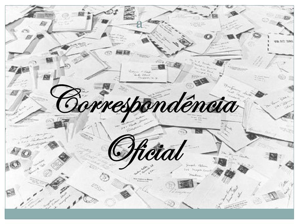 Correspondência Oficial a