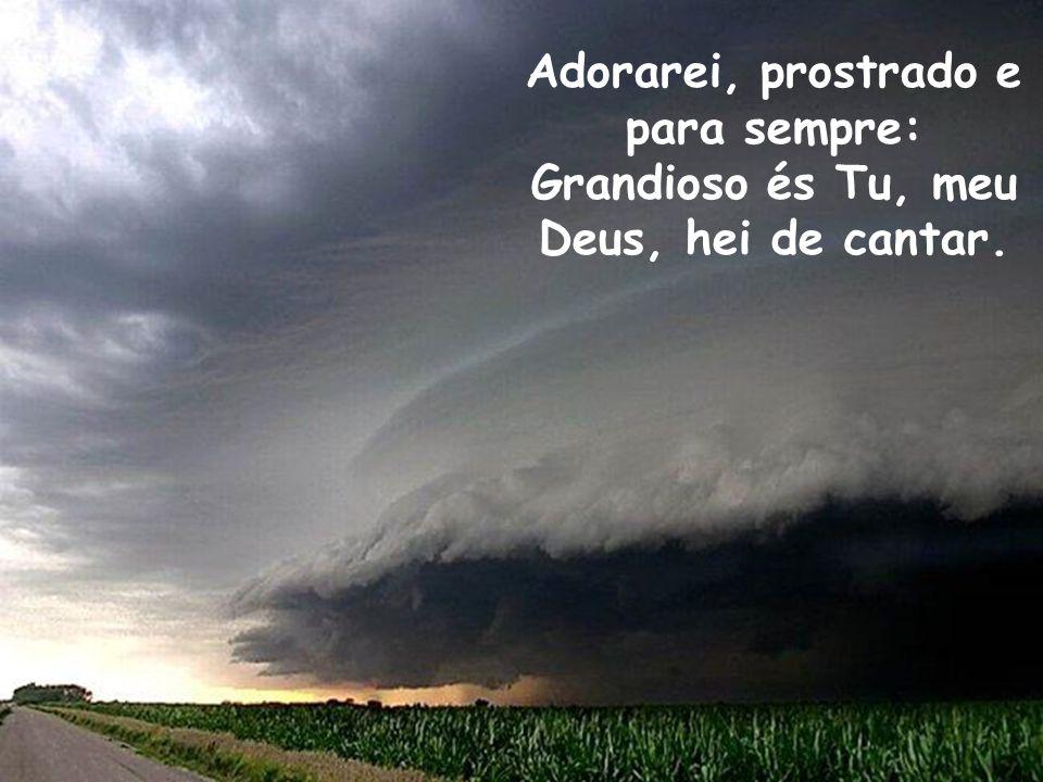 E quando enfim, Jesus vier em glória e ao lar celeste então me transportar,