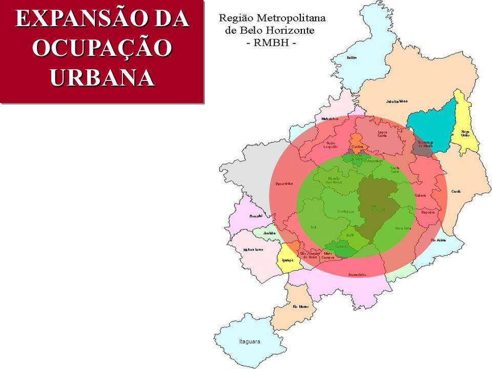 Itaguara EXPANSÃO DA OCUPAÇÃO URBANA