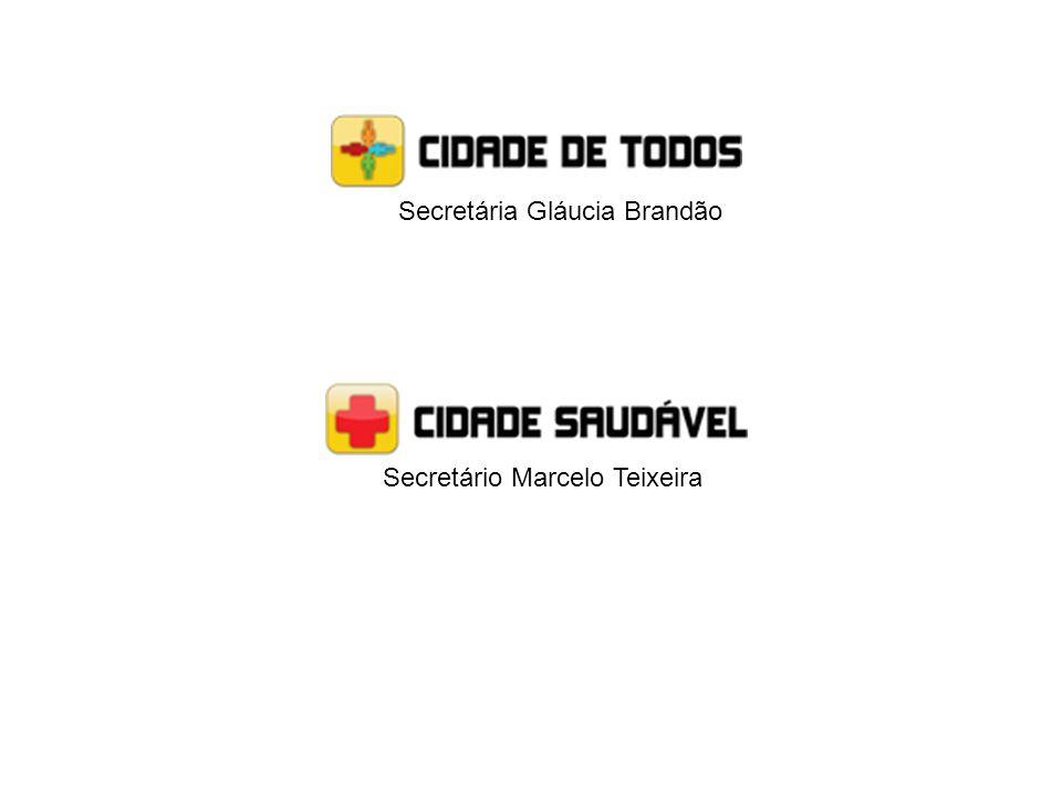 Secretário Marcelo Teixeira Secretária Gláucia Brandão